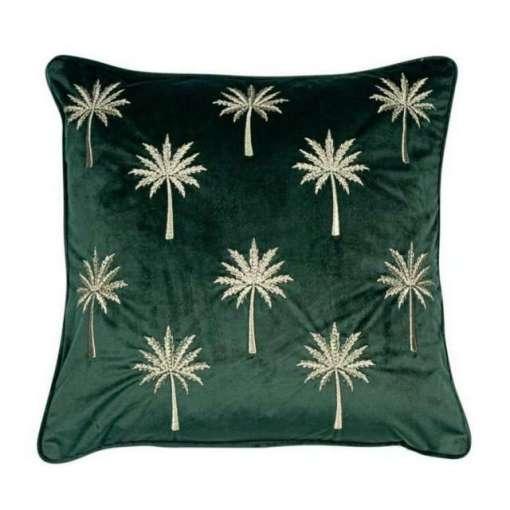 Palm Court Cushion 45 x 45cm, Emerald