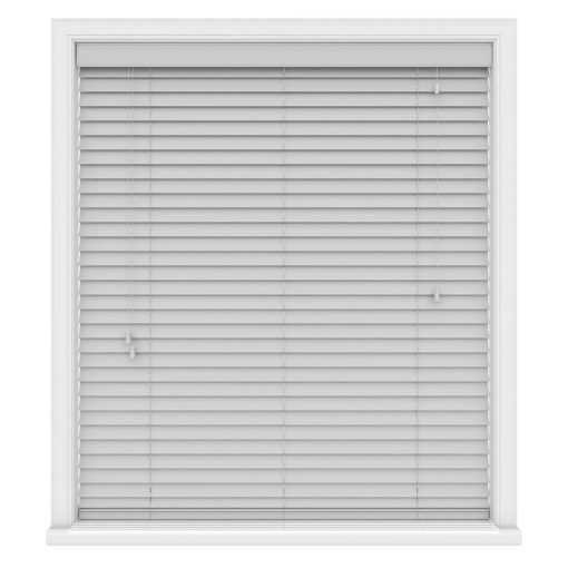 Kalm Grey Real Wood Roman Blind, Made to Measure