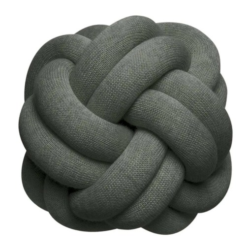 Knot Cushion 30x30cm, Forest Green
