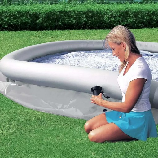 Bestway 10ft Quick Up Round Family Pool With Filter & Cover