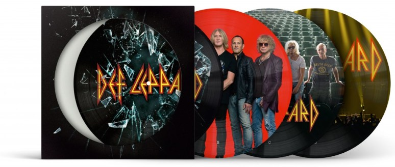 Def Leppard picture disc 3D all four sides