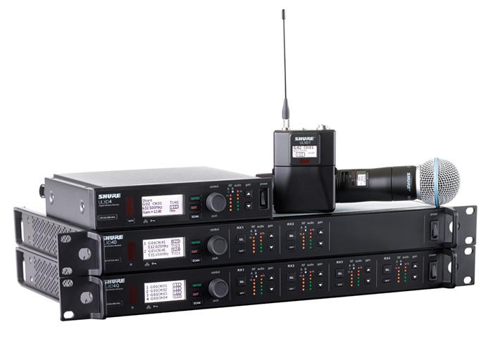ULX-D Wireless Audio System