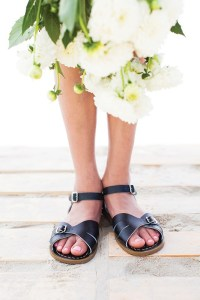 Saltwater sandals by Rachael Laine