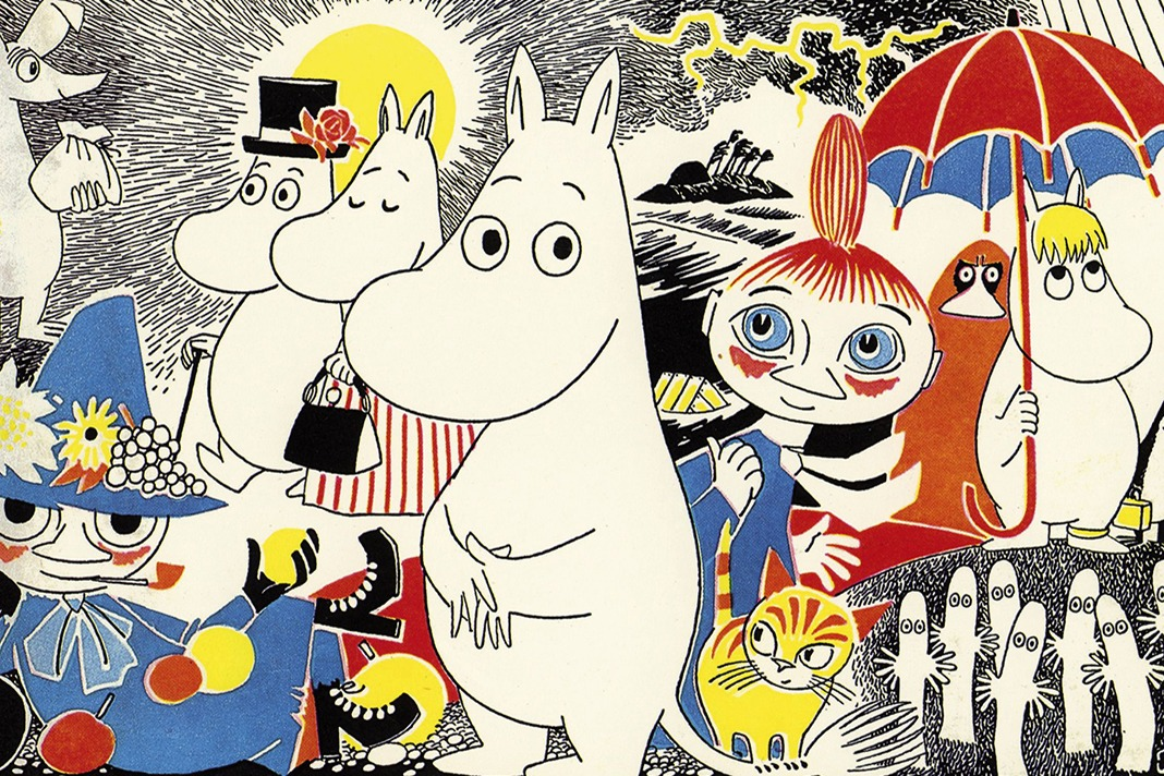 Moomins at Kew this Easter