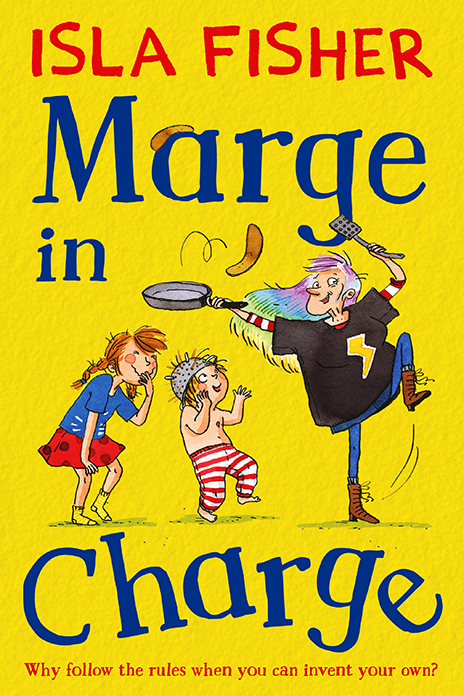Marge in Charge Isla Fisher