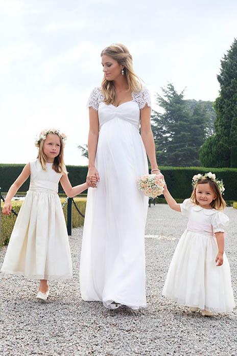 maternity wedding dress 1