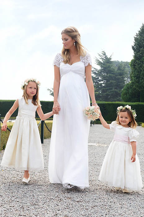 5 of the best maternity wedding dresses - Absolutely Mama