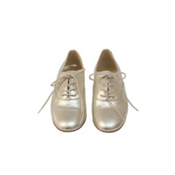Bour Derby Shoes Gold £164; bonpoint.com