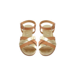 Abbey Sandals Gold £148; bonpoint.com