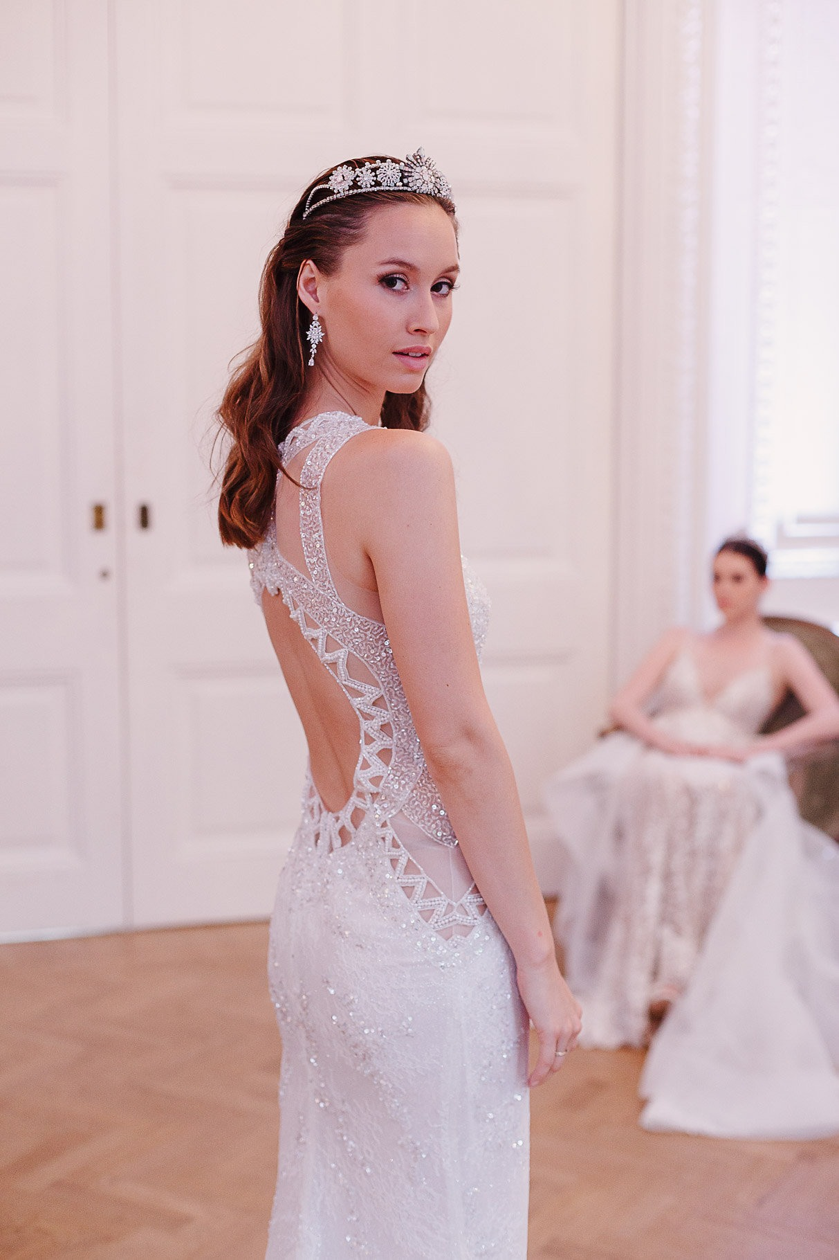 Moderno Vestido De Novia Isaac Mizrahi Patrón - Colección de ...
