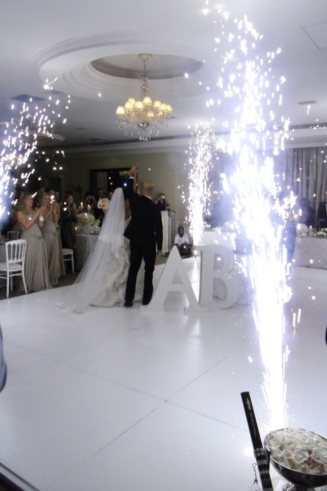 Expert answer: How to add fireworks to our wedding
