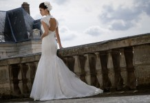 Lace wedding dresses with a contemporary edge