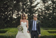 Real wedding: Tuscan romance for a weekend wedding party