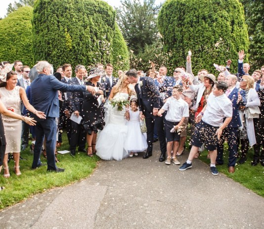 Real wedding: White magic at a classic country wedding