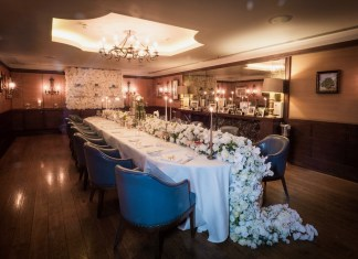 Creative inspiration for brides at Corrigan's Mayfair wedding showcase
