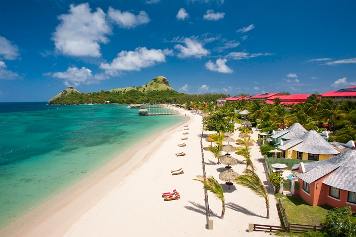 A beach heaven honeymoon in St Lucia with Sandals Resorts