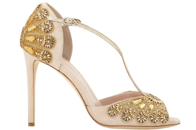 Put on the glitz with wedding shoes that sparkle