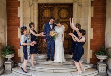 Real wedding: Studio glamour in the heart of London