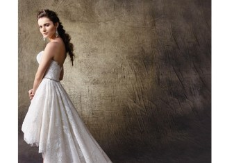 Bridal trend: Join the train gang with these fabulous hi-lo wedding gowns