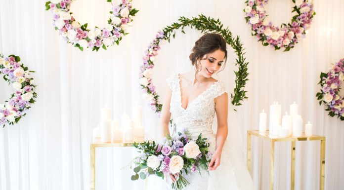 Wedding inspiration: Floral romance for a sophisticated London wedding