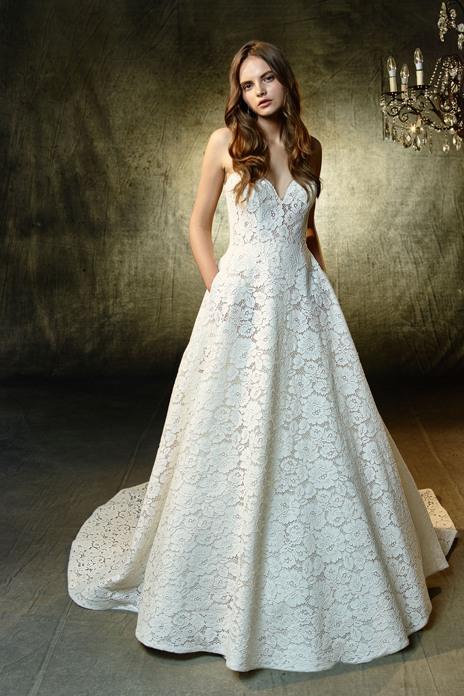 Bridal trend: Ballroom romance
