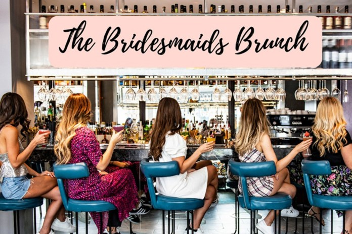 Dream dresses...and flowing prosecco at 'The Bridesmaids Brunch'