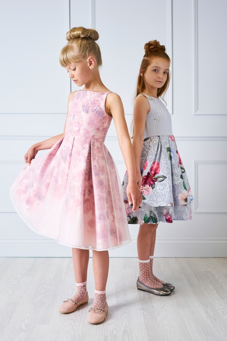 Party perfect gowns for young bridesmaids and flowergirls