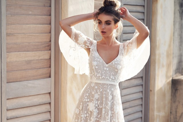 Bridal trend: Bold botanics for wedding-day glamour