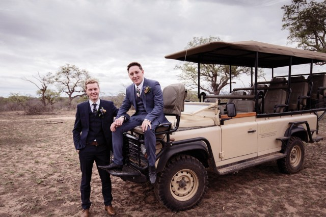 Real wedding: African dream