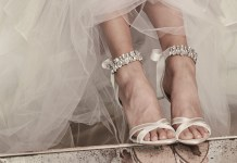 Bridal heels: Walk tall