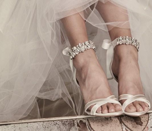 Bridal heels: Walk tall