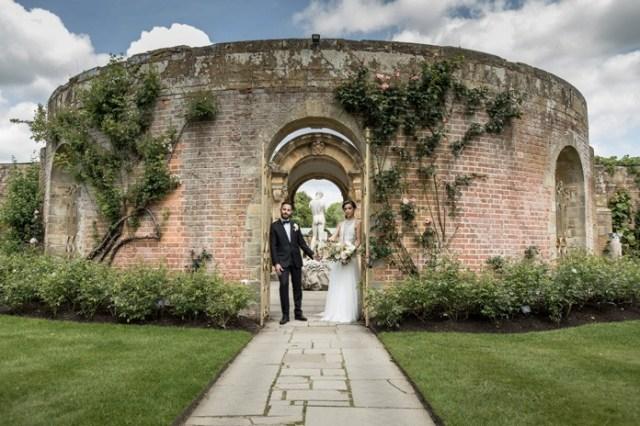 Hever castle hosts its autumn Wedding Showcase