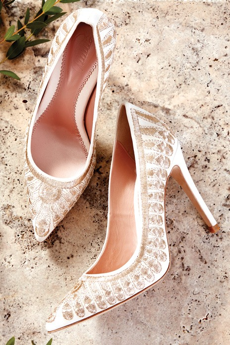 Dream bridal heels for walking tall on your wedding day
