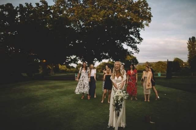 Wedding gold – Freya Rose's stunning country celebration