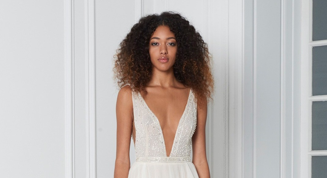 The Wedding Club offers home delivery on stunning sample gowns
