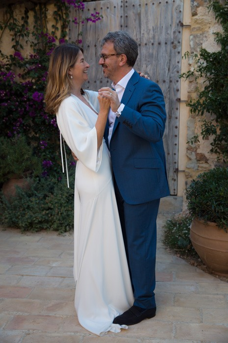 Real wedding: Ibiza fiesta