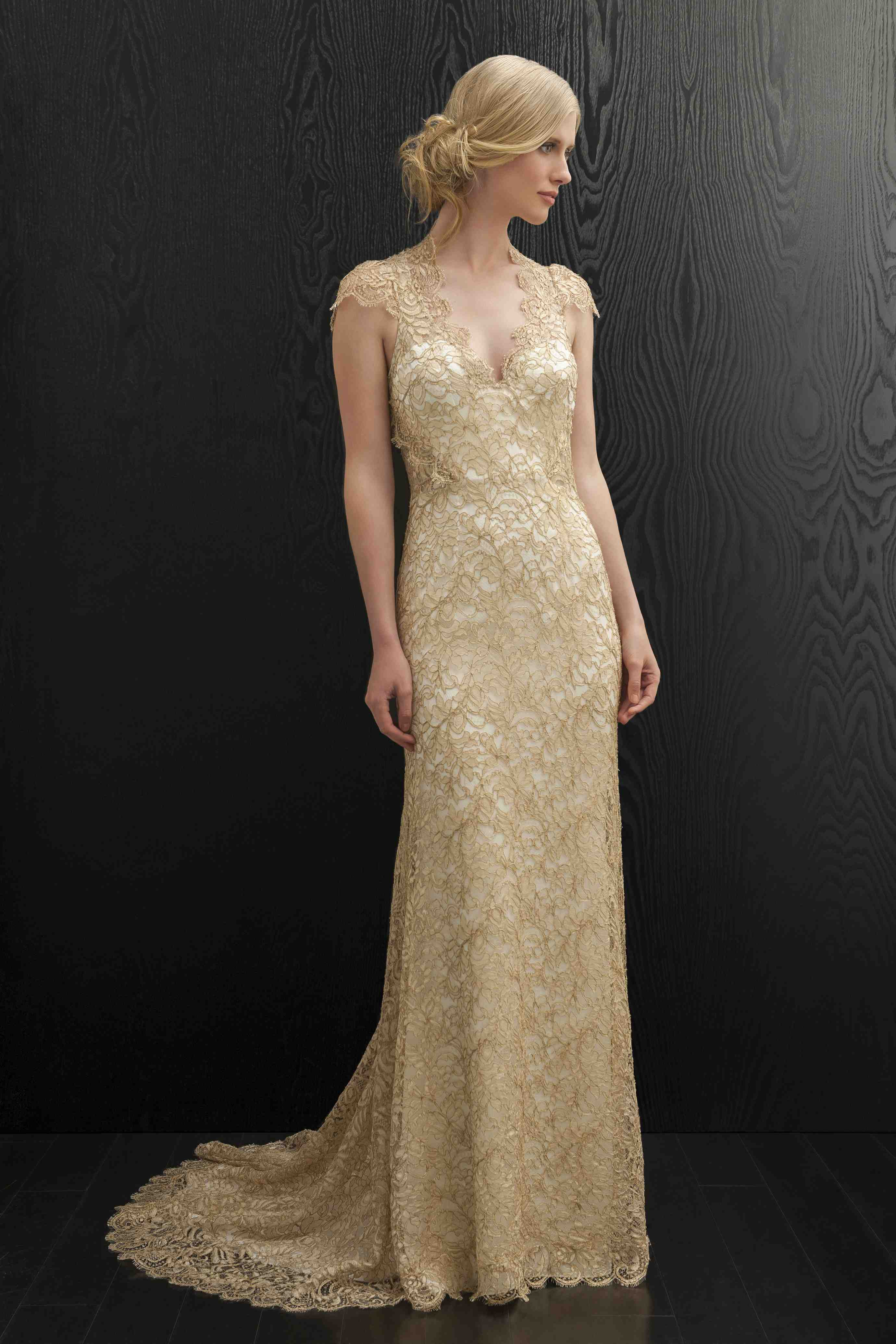 Day into evening wedding gowns - Absolutely Weddings