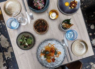 Trays & Trolleys: A New Style of Service at Magpie Restaurant