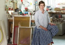 Absolutely Visits Artist Sophie Smallhorn New Studio