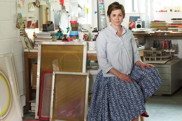 Absolutely Visits Artist Sophie Smallhorn New Studio