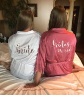 Bridesmaid robe picture