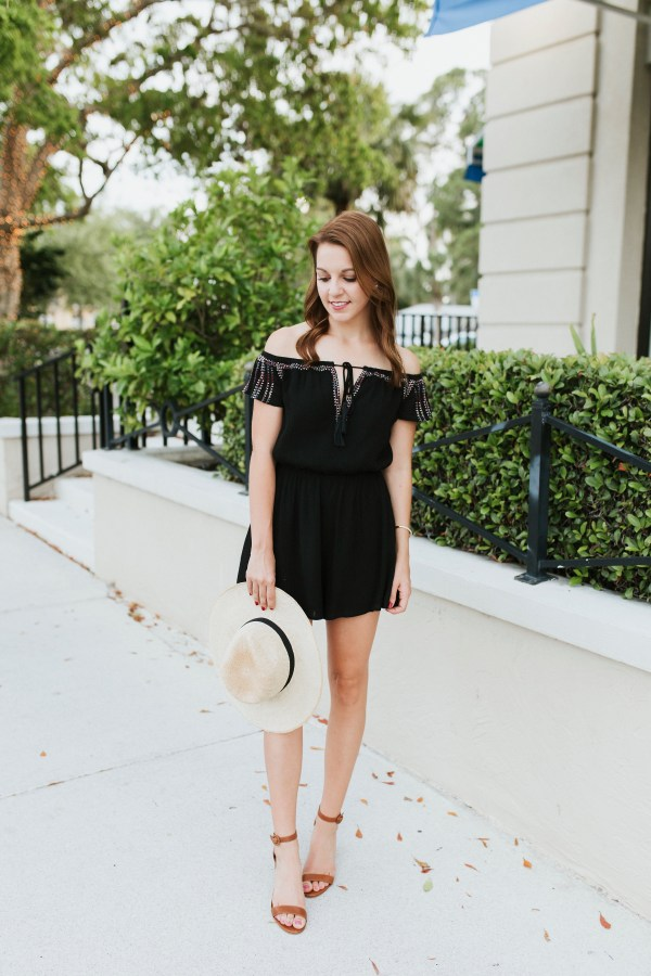 How to Wear Black in the Summer by FL fashion blogger Absolutely Annie