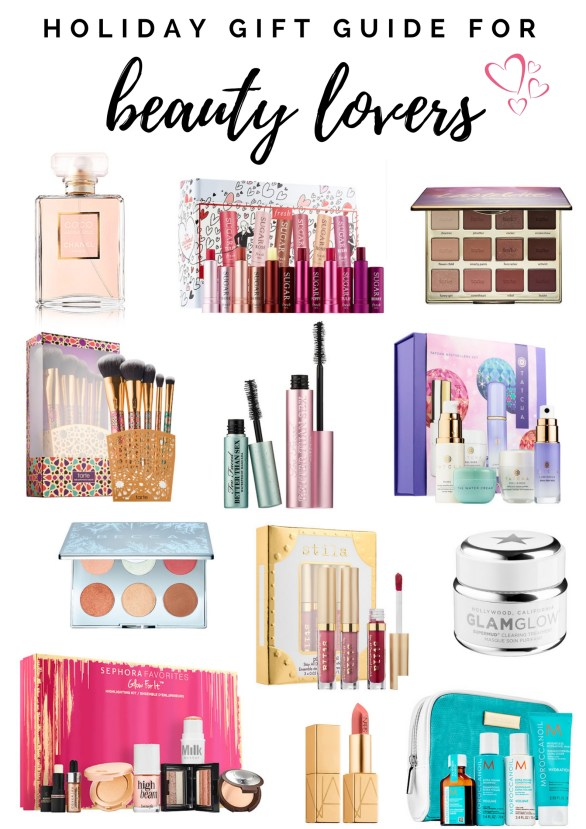 The Ultimate Holiday Gift Guide for Beauty Lovers by Florida style blogger Absolutely Annie
