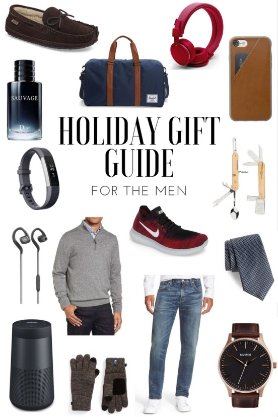 Holiday Gift Guide for Him by popular FL blogger Absolutely Annie