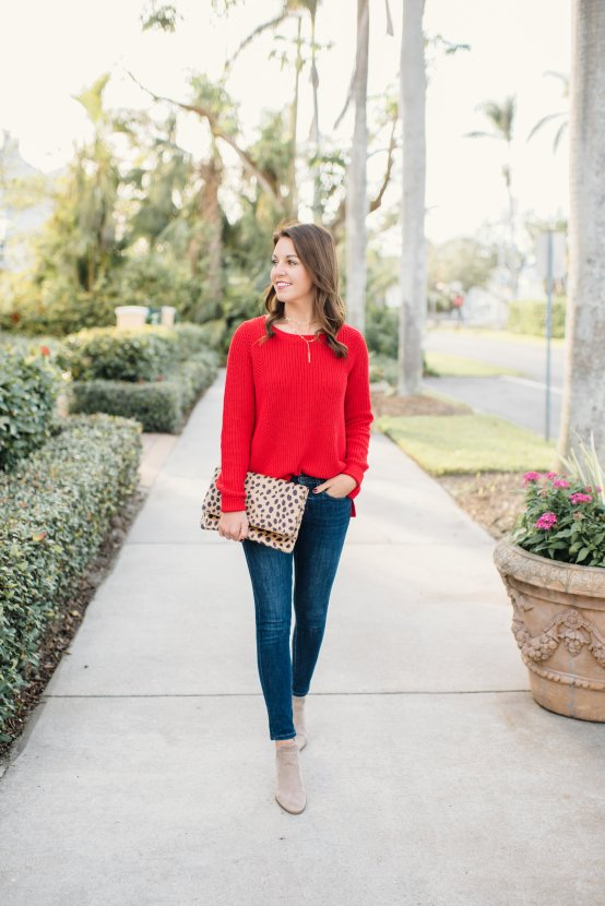 The Perfect Everyday Sweater by popular Florida style blogger Absolutely Annie