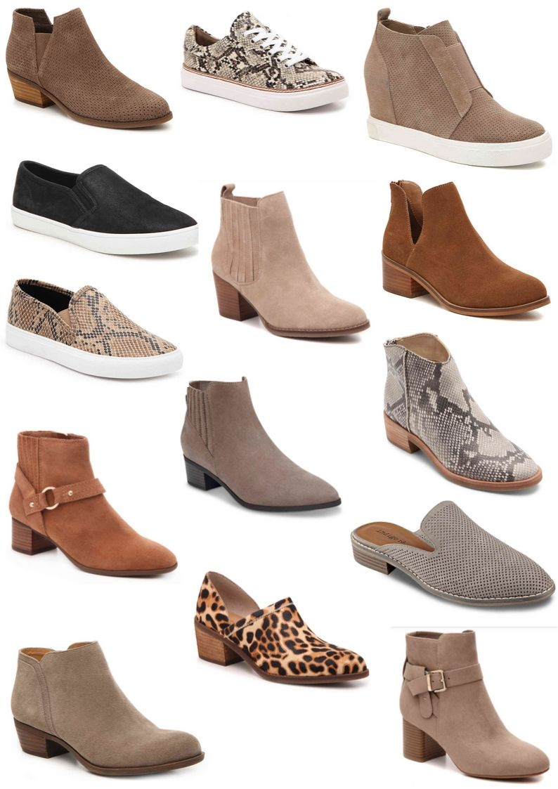 DSW Fall Shoe Haul   Absolutely Annie