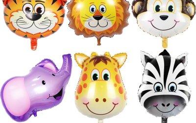 Easy Jungle Animal Theme Birthday Party