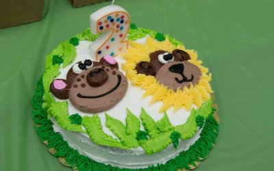Easy Jungle Animal Theme Birthday Party