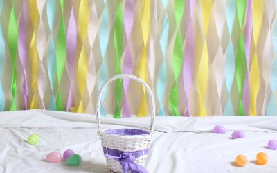 DIY Backdrop for Easter Pictures