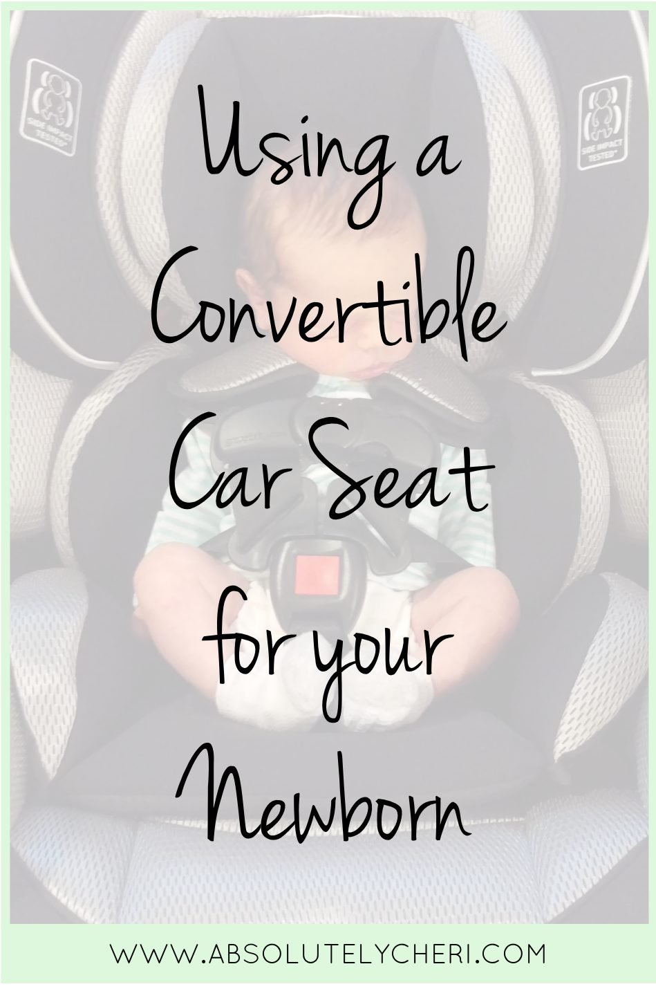 Most convertible car seats can be used for babies as small as four pounds? Skipping the infant car seat was one of the best things I decisions I made.